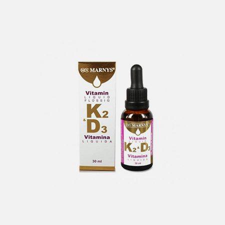 Vitamina K2 + D3 Liquida – 30ml – Marny's