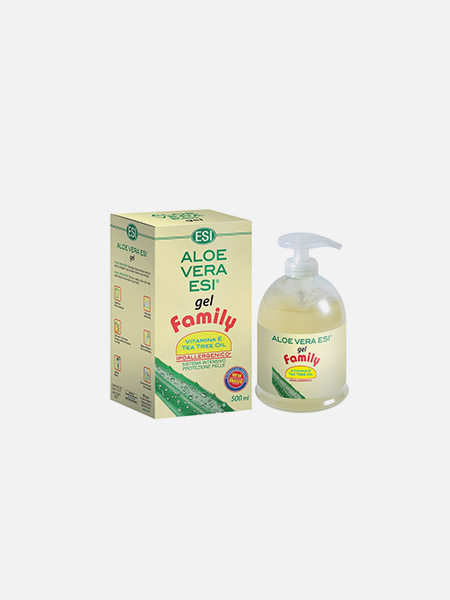 Aloé Vera Gel com Tea Tree Oil Family - 500ml - ESI