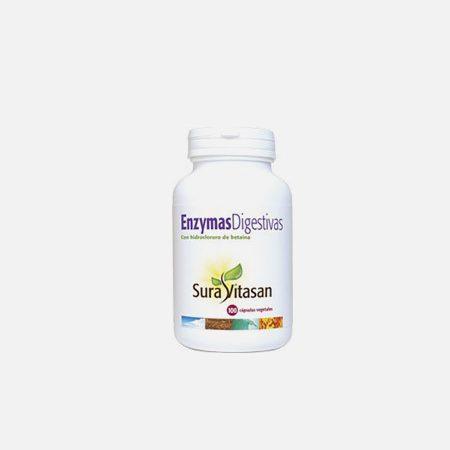 Enzymas digestivas – 100 cápsulas – Sura Vitasan