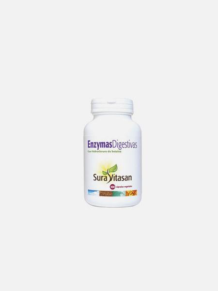 Enzymas digestivas - 100 cápsulas - Sura Vitasan