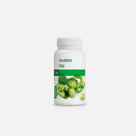 Lúpulo BIO 200 mg – 120 cápsulas – Purasana