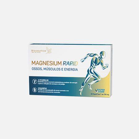 Magnesium Rapid – 60 RapidTabs – Bioceutica