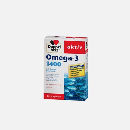 Omega-3 1400 – 30 cápsulas – Doppelherz