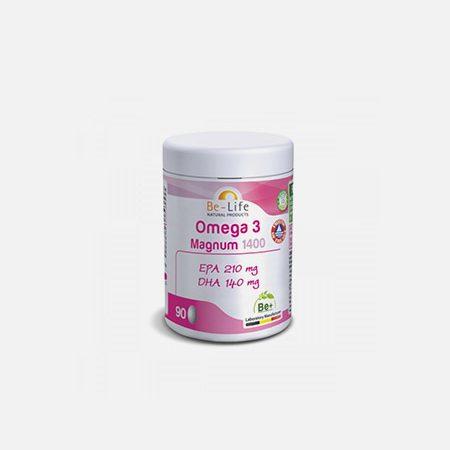 Omega-3 Magnum 1400 – 90 cápsulas – Be-Life