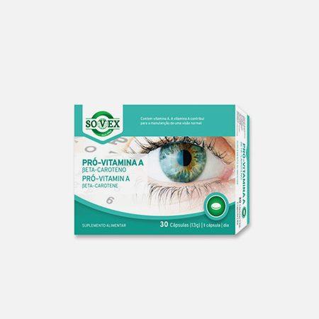 Pró-Vitamina A – 30 cápsulas – Sovex