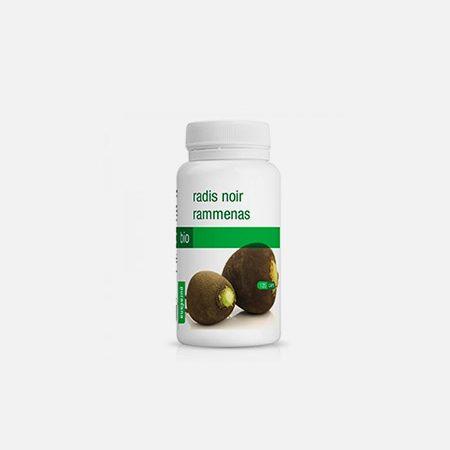 Rábano negro BIO 300 mg – 120 cápsulas – Purasana