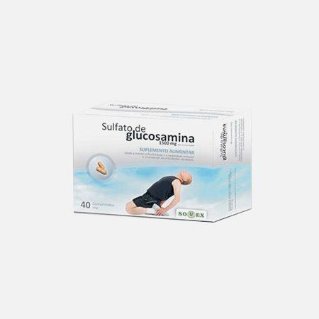 Sulfato De Glucosamina 1500mg – 40 comprimidos – Sovex