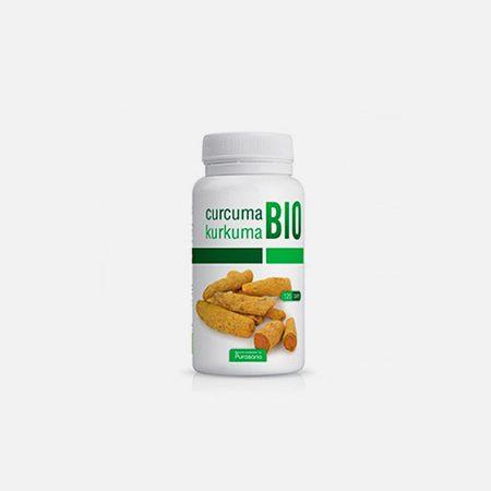 Turmeric (Curcuma) BIO 325 mg – Purasana – 120 cápsulas