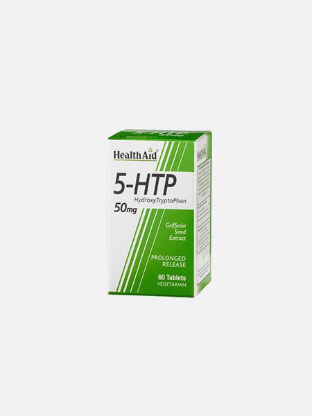 5-HTP 50mg - 60 comprimidos - Health Aid