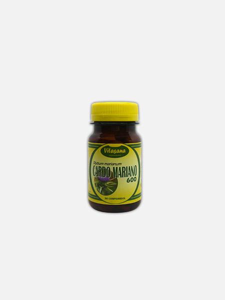 Cardo Mariano - 90 comprimidos - Soldiet