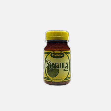 Argila – 180 comprimidos – Soldiet