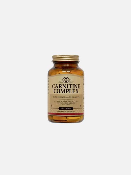 Carnitine Complex - 60 comprimidos - Solgar