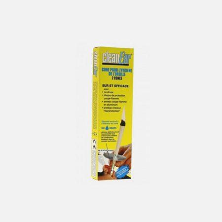 Cleanear Vela para Higiene do Ouvido – 2 velas – Diética