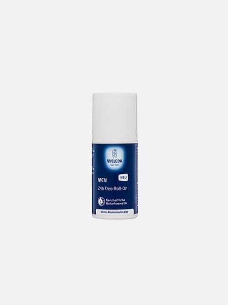 Desodorizante 24h Roll-On Men - 50ml - Weleda