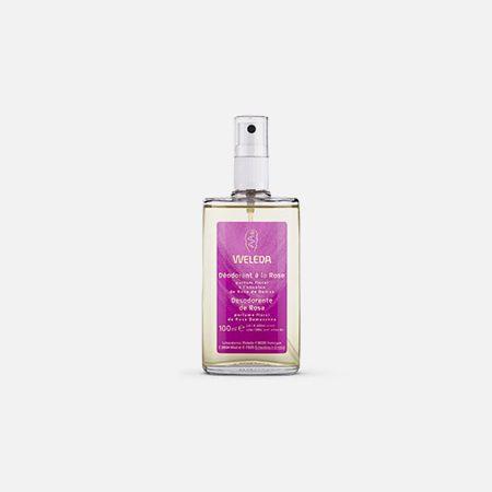 Desodorizante de Rosa – 100ml – Weleda