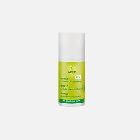 Desodorizante Roll-On de Citrus – 50ml – Weleda