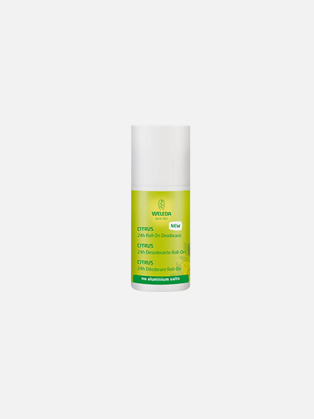 Desodorizante Roll-On de Citrus - 50ml - Weleda