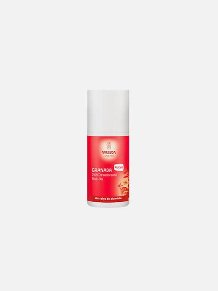 Desodorizante Roll-on de Romã - 50ml - Weleda