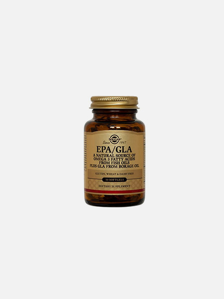 EPA GLA - 60 cápsulas - Solgar
