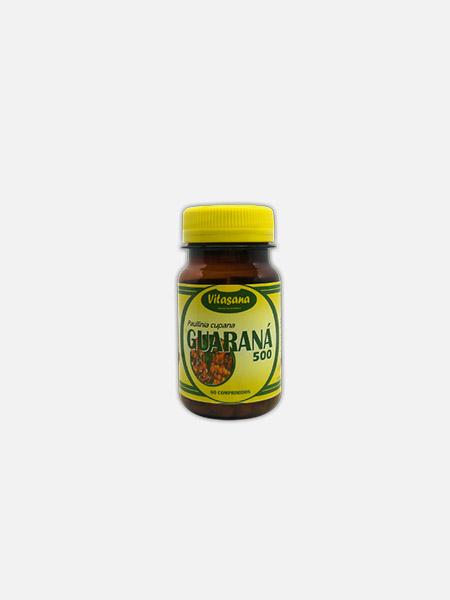 Guaraná - 60 comprimidos - Soldiet