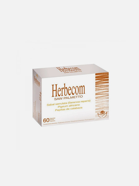 Herbecom Saw Palmetto - 60 cápsulas - Bioserum