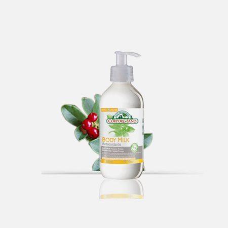 Leite corporal de Gayuba antioxidante – 300ml – Corpore Sano
