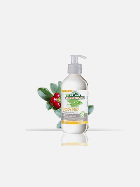 Leite corporal de Gayuba antioxidante - 300ml - Corpore Sano