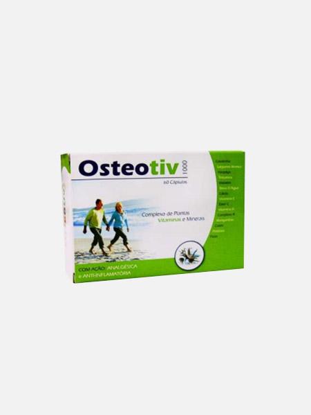 Osteotiv - 60 cápsulas - Soldiet
