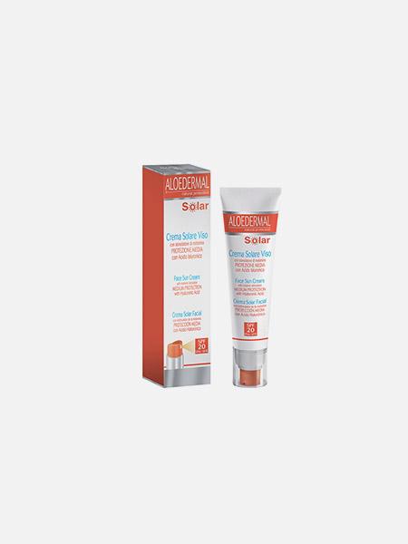 Aloedermal Creme Solar Facial SPF 20 - 75ml - ESI