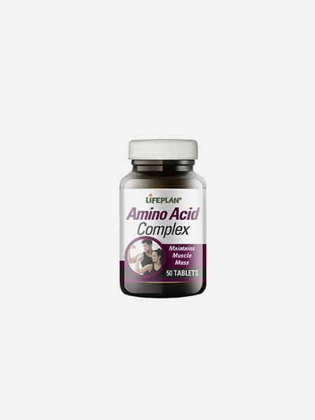 Amino Acid Complex - 50 cápsulas - LifePlan