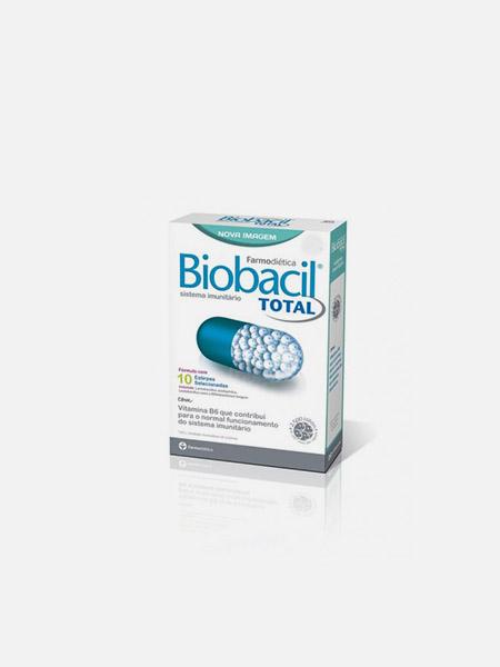 Biobacil Total - 60 cápsulas - Farmodietica