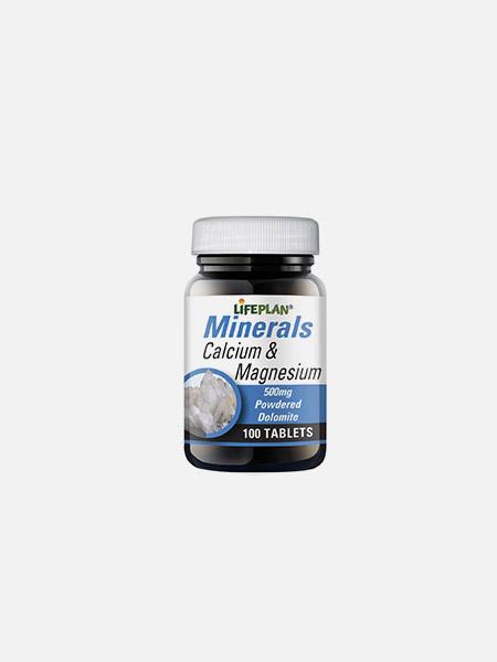 Calcium & Magnesium 500mg - 100 comprimidos - LifePlan