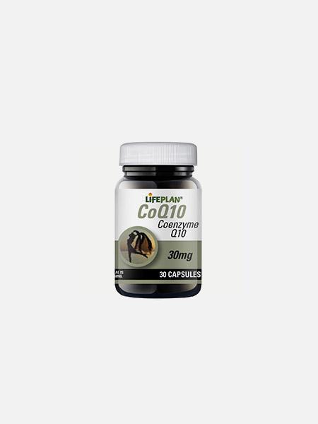 COQ 10 30mg - 30 cápsulas - LifePlan