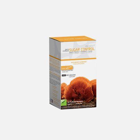 Ganocomplex Sugar Control – 60 cápsulas – Micolife