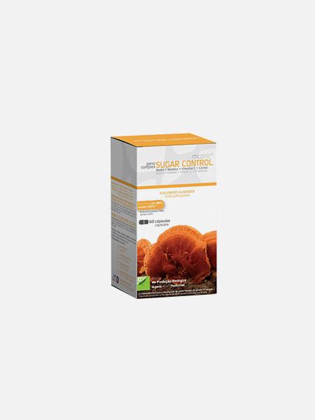 Ganocomplex Sugar Control - 60 cápsulas - Micolife