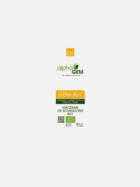 GEM-ALL, Complexo nº1 - 50ml - Alphagem