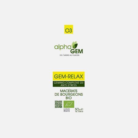 GEM-RELAX, Complexo nº3 – 15ml – Alphagem