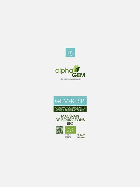GEM-RESPI, Complexo nº15 - 50ml - Alphagem