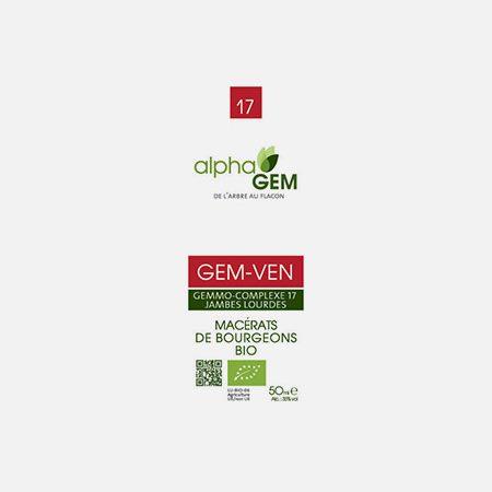 GEM-VEN, Complexo nº17 – 15ml – Alphagem
