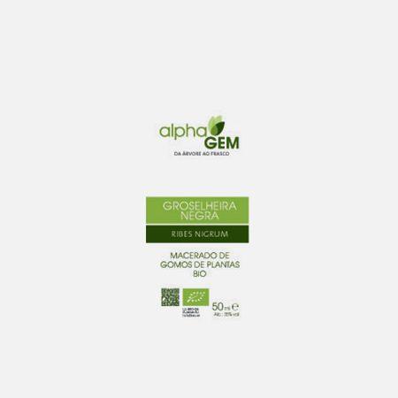 GROSELHEIRA NEGRA Cassis – 15ml – Alphagem