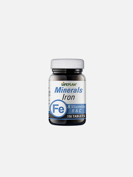 Iron Formula & Vitamins B & C - 150 comprimidos - LifePlan