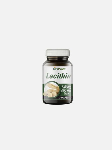 Lecithin 1200mg - 30 cápsulas - LifePlan