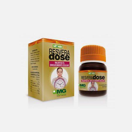 MG Dose V&M 33 ResveraDose – 30 comprimidos – Soria Natural