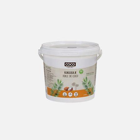 Óleo de Coco Desodorizado Bio – 1000ml – Coco Nature