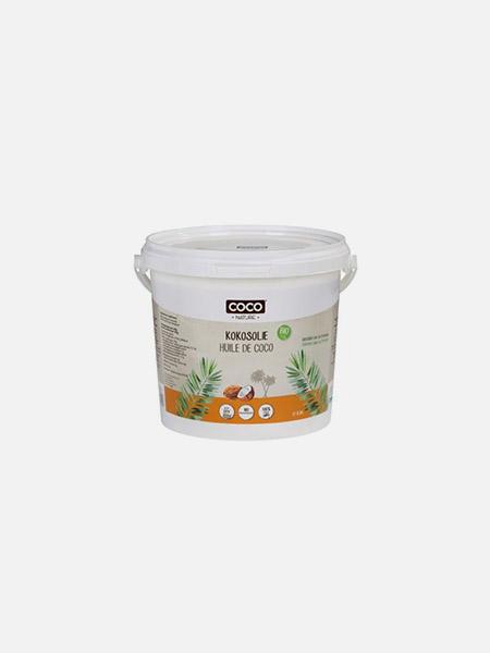 Óleo de Coco Desodorizado Bio - 1000ml - Coco Nature