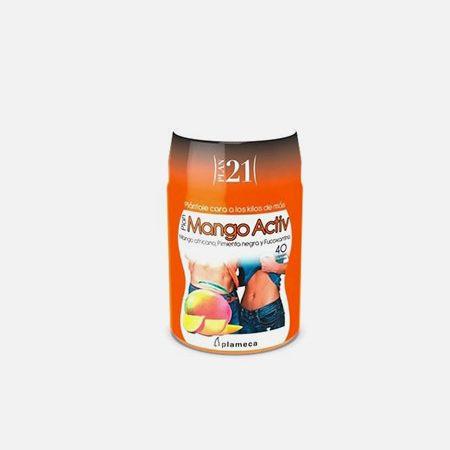 Plan 21 Mango Activ – 40 cápsulas – Plameca