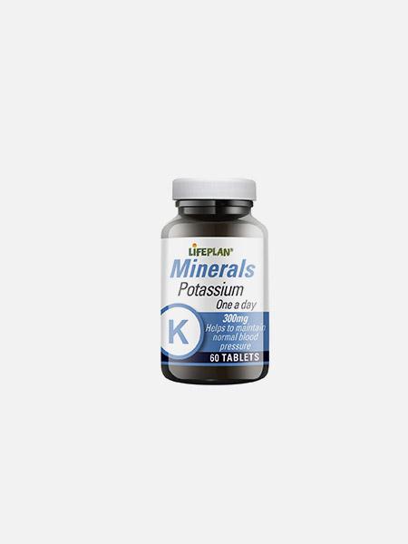 Potassium 300mg - 60 comprimidos - LifePlan