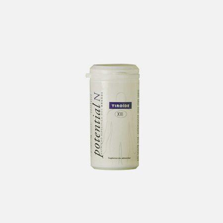 Potential N XIII, Tiróide – 60 cápsulas – Potential N