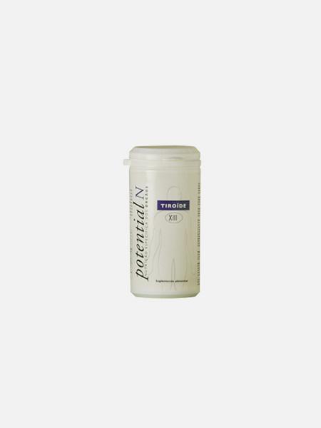 Potential N XIII, Tiróide - 60 cápsulas - Potential N