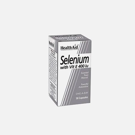 Selénio com Vitamina E 400 iu – 30 capsulas – HealthAid